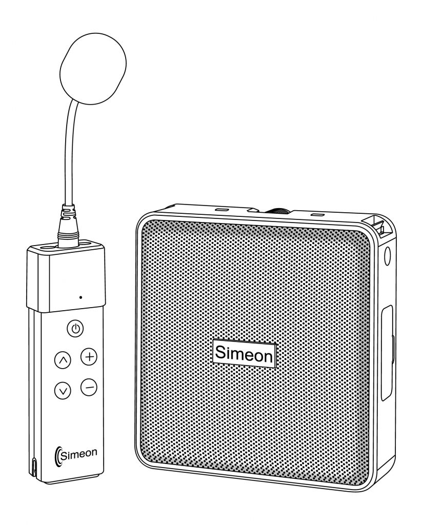 A line drawing of the Simeon Sprek.
